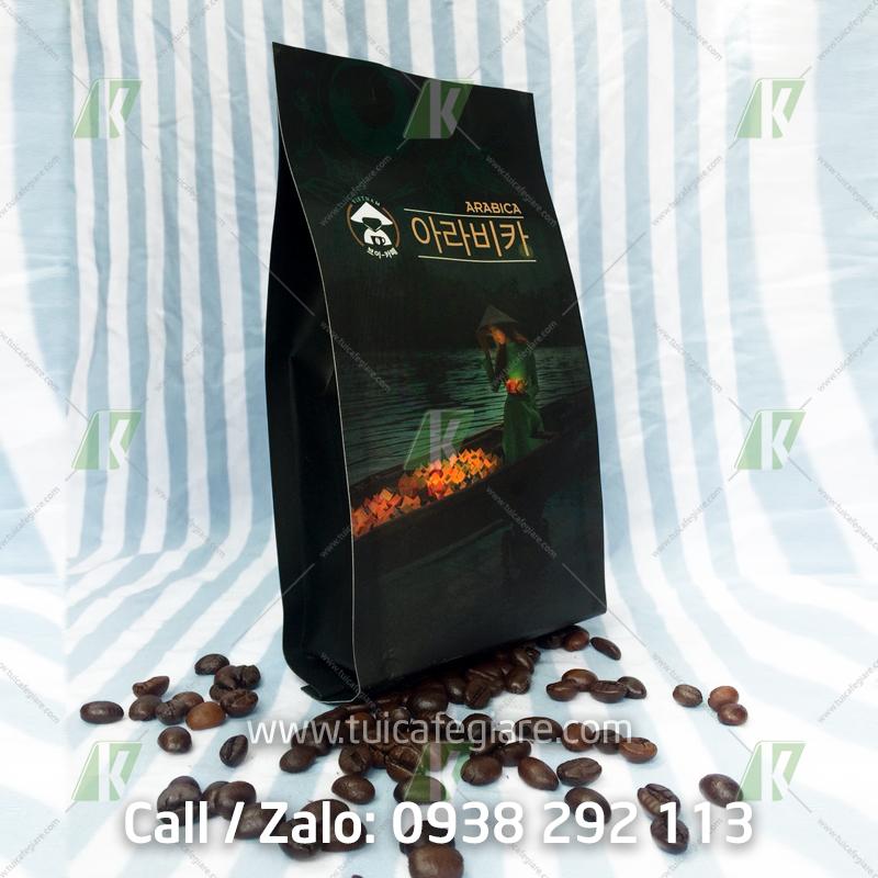 mẫu in bao bì Cà phê ARABICA Hàn Quốc