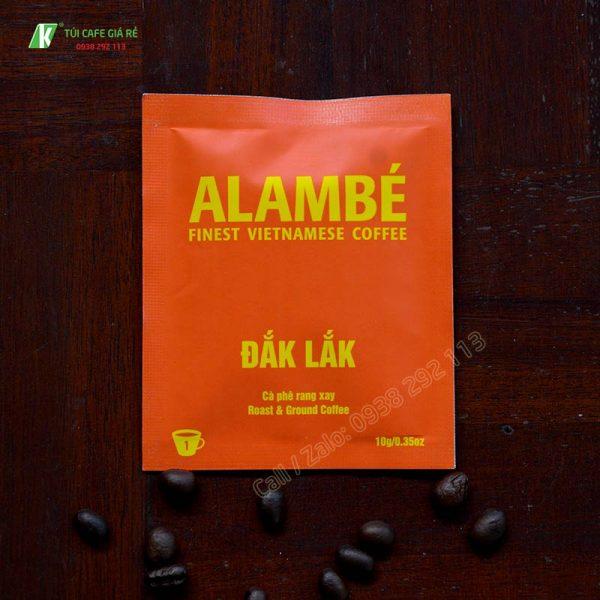Túi đựng cafe alambe Daklak