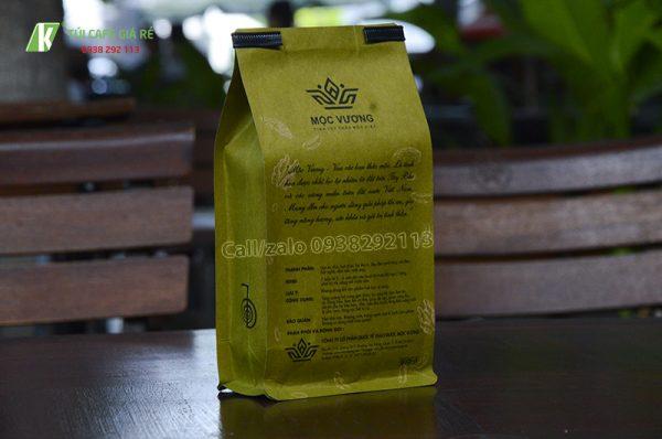Túi giấy kraft vàng đẹp