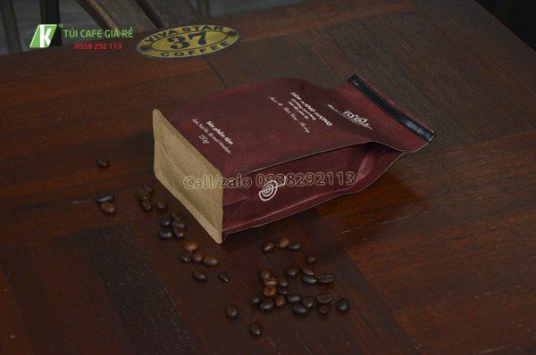 Túi giấy kraft nâu Mộc Vương
