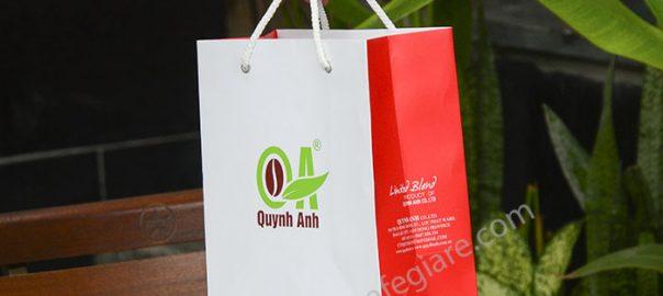 Túi xách giấy QA
