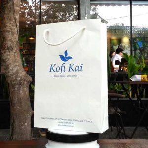 Túi Kraft trắng